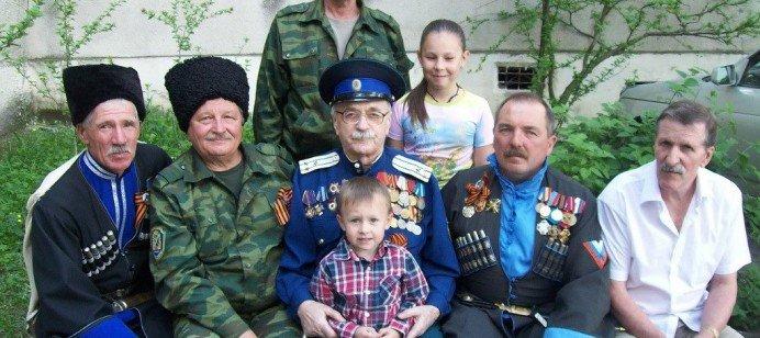 Терский казак, фронтовик Павел Бадулин