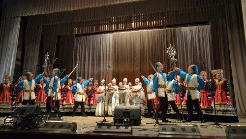 Донские казаки в гостях у губкинцев